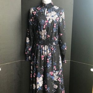 NWOT Nanette Lepore Floral Long Sleeve Dress